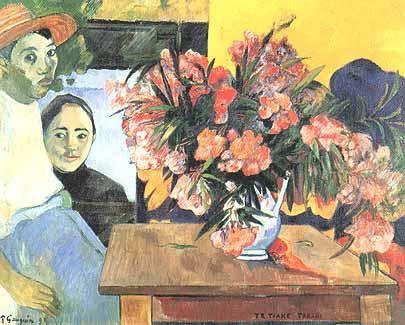 Gauguin, &;te tiare farani (les fleurs de france / fiori di francia
