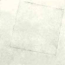 "Kasimir Malevich, ""Suprematist Composition: White on White (Composizione suprematista: bianco su bianco)"", 1918?, Museum of Modern Art (MoMA), New York"