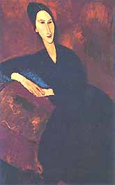 "Amedeo Modigliani, ""Anna Zborowska"", 1917, Museum of Modern Art (MoMA), New York"