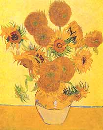 "Vincent van Gogh, ""Sunflowers (Girasoli)"", 1888, The Trustees of the National Gallery, Londra (London)"
