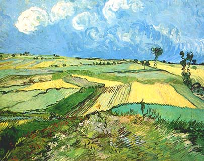 "Vincent van Gogh, ""Wheat Fields: The Plain of Auvers"", 1890, Carnegie Museum of Art di Pittsburgh (PA)"